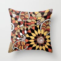 Isobelle. Throw Pillow