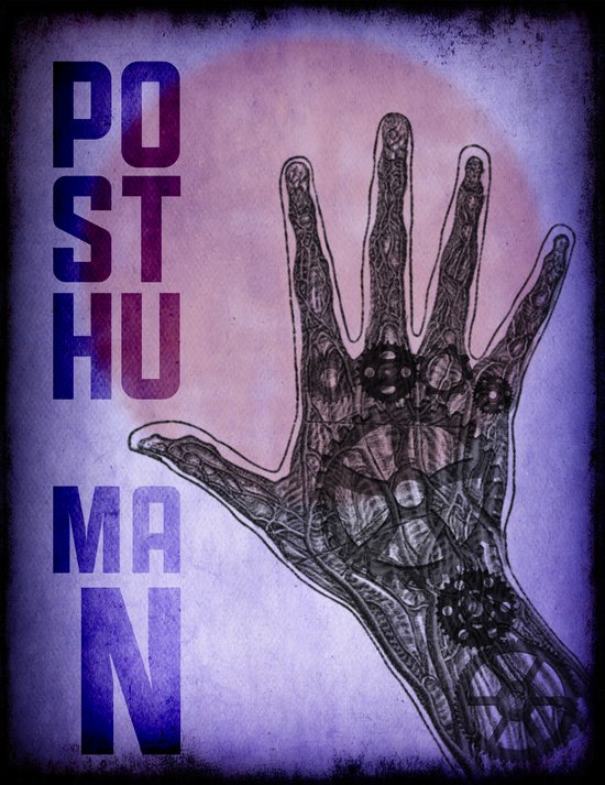 PostHuman Art Print