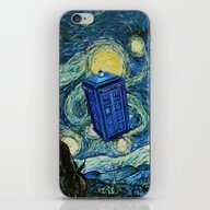 Tardis Dr. Who Starry Ni… iPhone & iPod Skin
