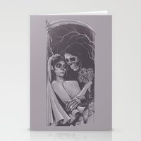 Death Won't Do Us Part Stationery Cards