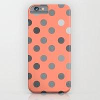 Polka Proton Pink iPhone 6 Slim Case