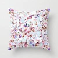 Spring Stitch Throw Pillow