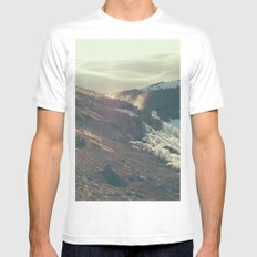 Fourteen Four Eleven SMALL Mens Fitted Tee White