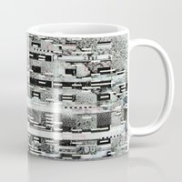 Highly Resolved Ghost (P/D3 Glitch Collage Studies) Mug