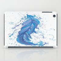 Blue Feather iPad Case