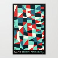 Bartok - Concerto For Or… Canvas Print