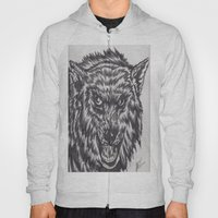 Angry wolf Hoody