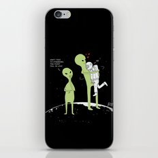 Don't talk to strangers, You might fall in love! iPhone & iPod Skin