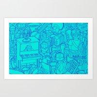 #MoleskineDaily_48 Art Print