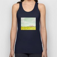 Oil Painting House Unisex Tank Top
