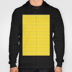 Horizontal Lines (White/Gold) Hoody