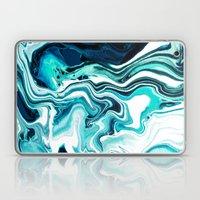 Marble - Sea Of Green Laptop & iPad Skin