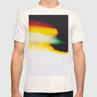 LightLeak Mens Fitted Tee Natural SMALL
