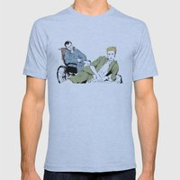 Rear Window Mens Fitted Tee Athletic Blue SMALL