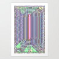 Pink Slip Art Print