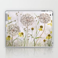 Alliums and Heleniums Laptop & iPad Skin