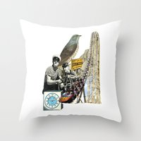 Navigate The Roller Coas… Throw Pillow