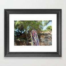 You are a rainbow Framed Art Print