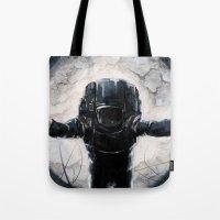 Lunar Figure  Tote Bag