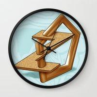 ODD PENTAGON Wall Clock