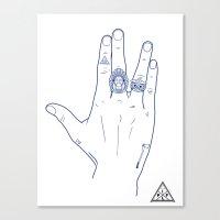 Make My Hands Famous - Part V Canvas Print