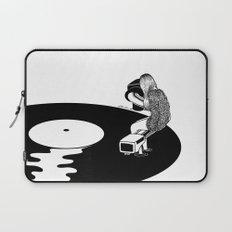 Don't Just Listen, Feel It Laptop Sleeve
