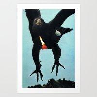 Black Eagle... (2013) Art Print