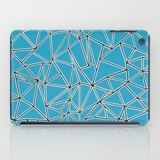 Shattered Ab Blue iPad Case