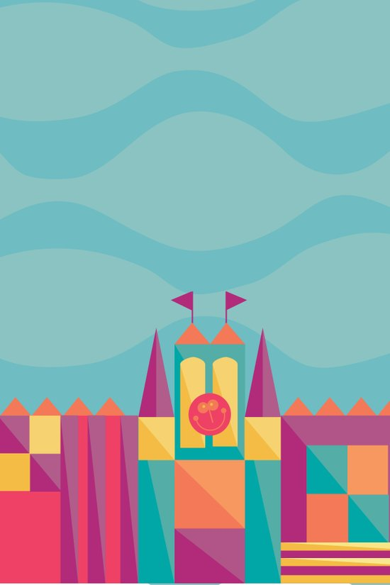 It's a small world after all   Disney inspired Art Print