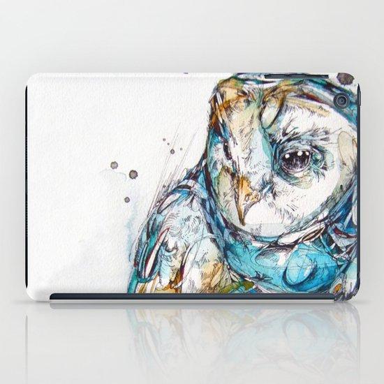 The Sea Glass Owl iPad Case