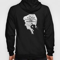 Boy's best friend – Norman Bates Psycho Silhouette Quote Hoody