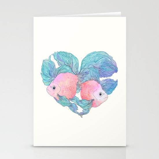 Summer Love Stationery Card