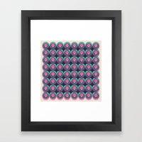 HUKUMU - peacock Framed Art Print