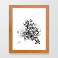 Kaiju /  Codename: fo4rfifteen. Framed Art Print