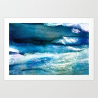 Waves Of Wool Art Print