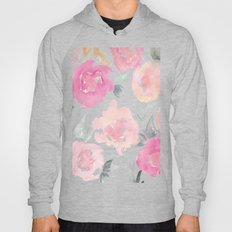 Muted Floral Watercolor … Hoody