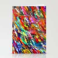 Colorful Waters Stationery Cards