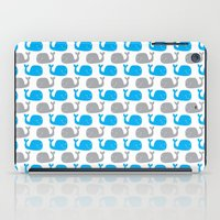 Having A Whale Of A Time iPad Case