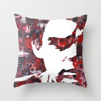 Dark Passenger Throw Pillow