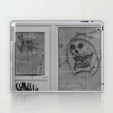 Death's newspaper booth Laptop & iPad Skin