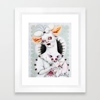 Zombie Queen Framed Art Print