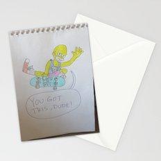 Bootleg Series: Meggie Sampson the skateboarder Stationery Cards