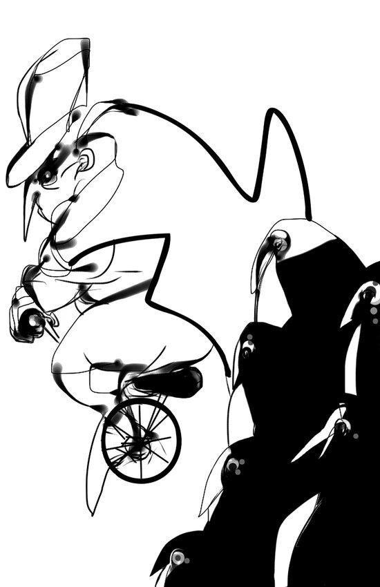 penguin posse Art Print