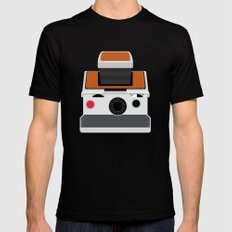 Polaroid SX-70 Land Camera Mens Fitted Tee Black SMALL