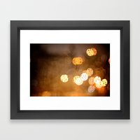 Lost In The Periphery Framed Art Print