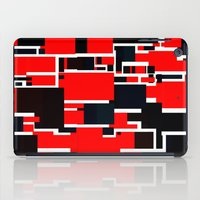 Black and Red iPad Case