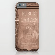 Public Garden iPhone 6s Slim Case