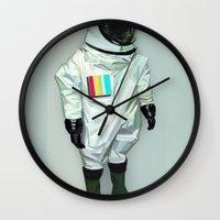 Mr CMYK Wall Clock