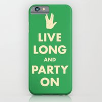 live Long and Party On (Green) iPhone 6 Slim Case