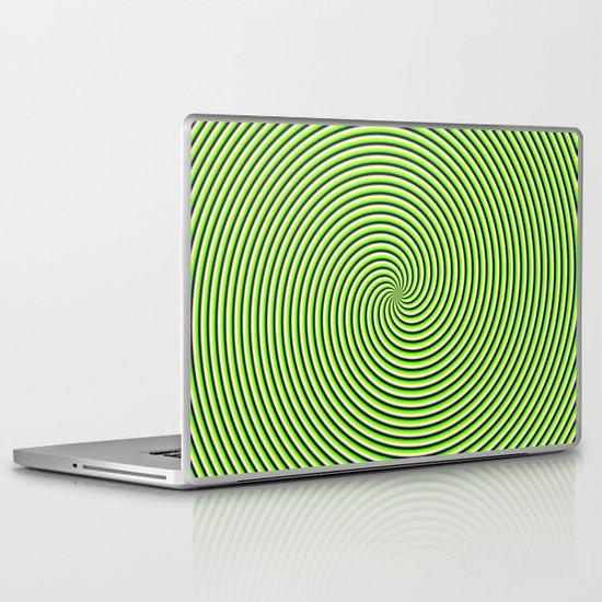 Trip spin Laptop & iPad Skin